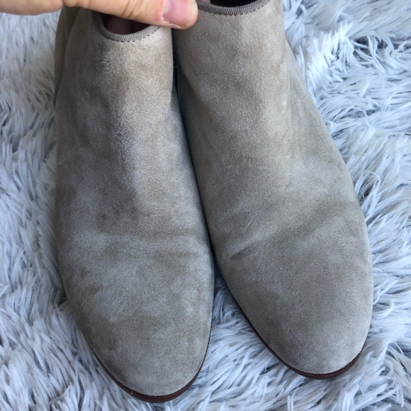 ea2dc1d363073 Sam Edelman Gray Putty Suede Booties. M 5ba70071fb380386e5f1285a